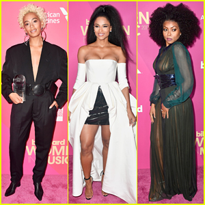 Solange, Ciara & Taraji P. Henson Support Fierce Ladies at Billboard's Women in Music Event!