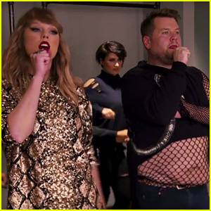 James Corden Fills In for Taylor Swift's Backup Dancer in Funny Jingle Ball Video!