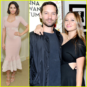 Tobey Maguire Supports His Ex Jennifer Meyer at Jewelry Launch with Jenna Dewan-Tatum