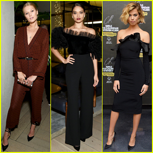 Toni Garrn, Shanina Shaik & More Celebrate 'CR Fashion Book' 2018 Calender in NYC!