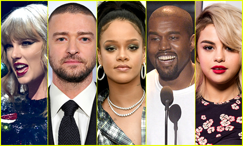 The 25 Most Popular Music Stars on Just Jared in 2017