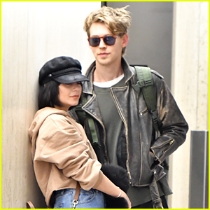 Vanessa Hudgens & Boyfriend Austin Butler Fly Home After Wrapping 'Second Act' in NYC!