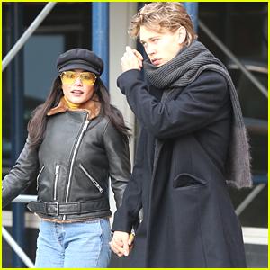 Vanessa Hudgens & Austin Butler Hold Hands During Afternoon Date