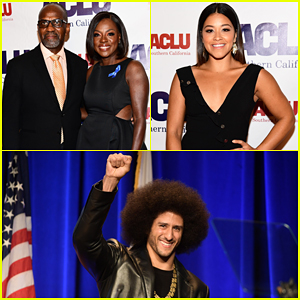 Viola Davis, Gina Rodriguez & More Help Honor Colin Kaepernick at ACLU Bill of Rights Dinner 2017!