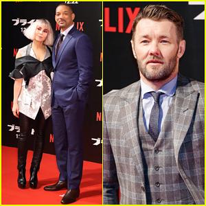 Will Smith & Co-Stars Noomi Rapace & Joel Edgerton Hit Tokyo for 'Bright' Premiere!