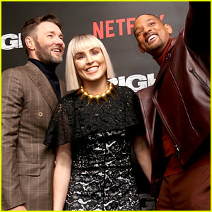 Will Smith, Noomi Rapace, & Joel Edgerton Premiere 'Bright' for UK Audiences!