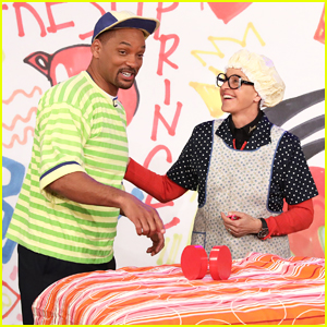 Will Smith Transfroms Back Into Fresh Prince for Instagram on 'Ellen' - Watch Here!