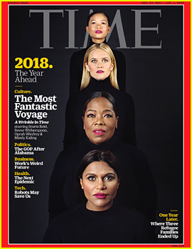 'A Wrinkle in Time' Cast Covers Time's New Issue Together