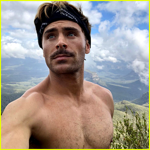 Zac Efron Goes Shirtless for His Christmas Day Hike!