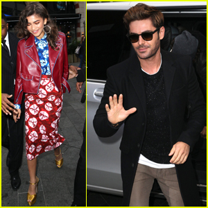 Zac Efron & Zendaya Kick Off 'Greatest Showman' Media Tour in London