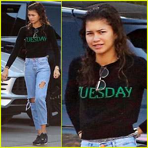 Zendaya Takes a Break From 'Greatest Showman' Promo to Enjoy Holidays With Her Family