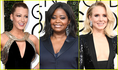 14 Women Who Wore Black on Golden Globes 2017 Red Carpet