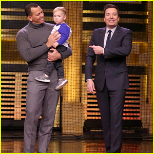 Alex Rodriguez Has Hitting Contest with 22-Month-Old Viral Sensation Asher Willig on 'The Tonight Show'