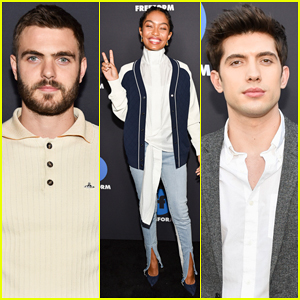 Alex Roe, Yara Shahidi & Carter Jenkins Promote Their Shows at Freeform Summit 2018!