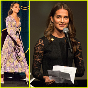 Alicia Vikander Says Strong Women Are Alone on the Big Screen