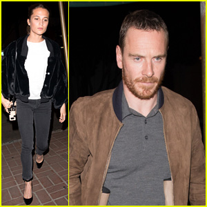 Alicia Vikander & Michael Fassbender Do Date Night at Madeo