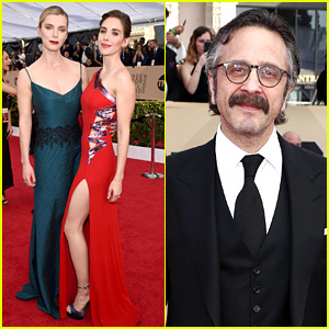 Alison Brie, Betty Gilpin, & 'GLOW' Cast Gather at SAG Awards 2018!