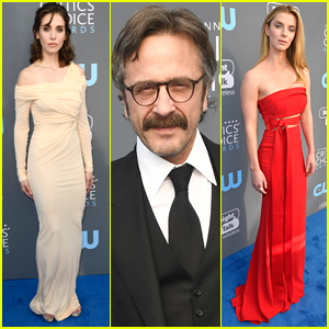 Alison Brie Joins 'GLOW' Co-Stars at Critics' Choice Awards 2018