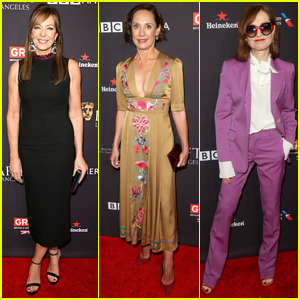 Allison Janney & Laurie Metcalf Step Out for BAFTA Tea Party