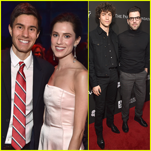Allison Williams & Husband Ricky Van Veen Couple Up for Sean Penn's Charity Gala