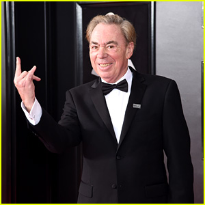 Andrew Lloyd Webber Wears a Time's Up Pin at Grammys 2018