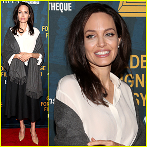 Angelina Jolie Celebrates Foreign Language Films Ahead of the Golden Globes