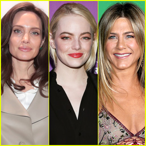 Angelina Jolie, Jennifer Aniston, Emma Stone & More Added as Golden Globes 2018 Presenters