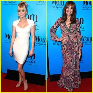 Anna Faris & Allison Janney Celebrate 100 Episodes of 'Mom'!
