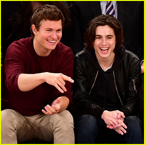 Ansel Elgort & Timothee Chalamet's Drama Teacher Reveals What They Were Like in High School