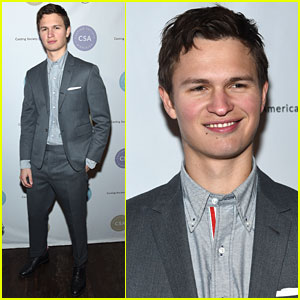 Ansel Elgort Looks Dapper at Artios Awards 2018 in NYC