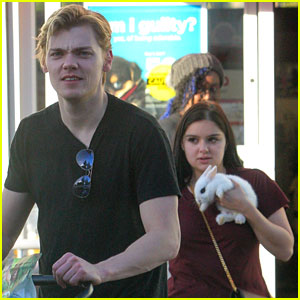 Ariel Winter & Boyfriend Levi Meaden Adopt a Baby Rabbit!