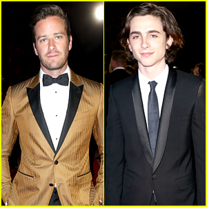 Armie Hammer & Timothee Chalamet Look So Dapper at Palm Springs Film Festival!