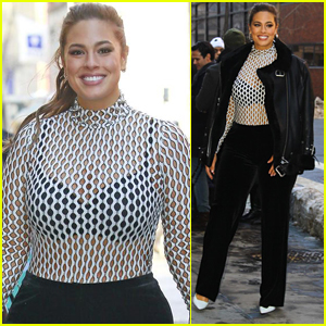 Ashley Graham Goes Glam While Promoting 'ANTM' in NYC