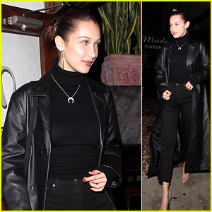 Bella Hadid Looks Chic While Leaving Dinner in West Hollywood!