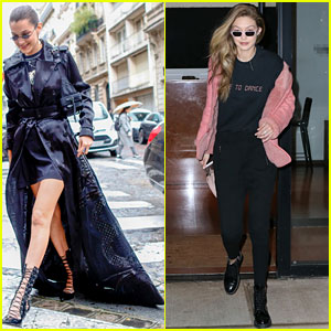 Bella Hadid Channels 'The Matrix' While Stepping Out in Paris