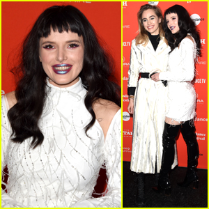 Bella Thorne Wears Black Wig & Joins Suki Waterhouse at Sundance Film Festival