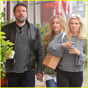 Ben Affleck & Lindsay Shookus Start Their Weekend with Shopping