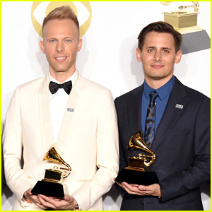 Benj Pasek & Justin Paul Win a Grammy, One Away from EGOT!