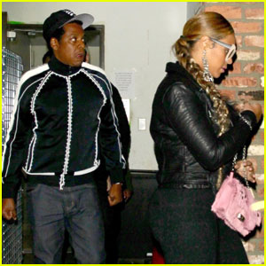 Beyonce & Jay Z Have A Low Key Date Night in Hollywood