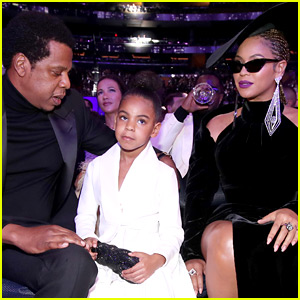 Watch Blue Ivy Tell Beyonce to Stop Clapping at Grammys 2018!