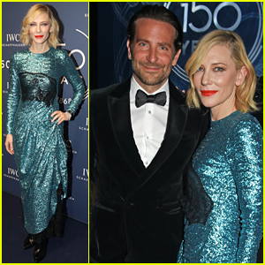 Bradley Cooper Joins Fellow IWC Ambassador Cate Blanchett at a Gala in Switzerland
