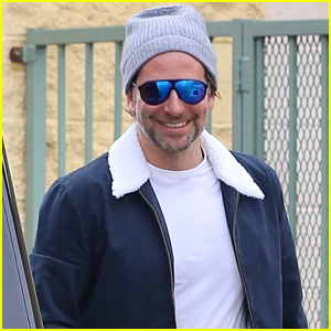 Bradley Cooper is All Smiles Stepping Out in Santa Monica!