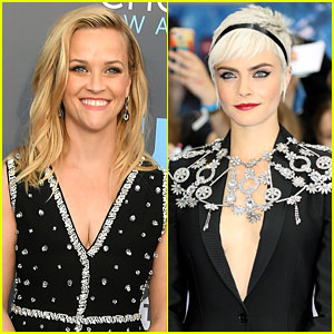 Reese Witherspoon Reacts to Cara Delevingne Sleeping in Hair & Makeup! (Video)