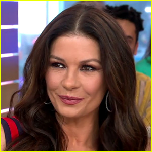 Catherine Zeta-Jones Opens Up About Playing a Drug Lord in 'Cocaine Godmother' on 'GMA' - Watch!