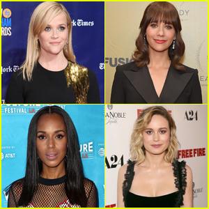 Celebs Wearing Black at Golden Globes 2018