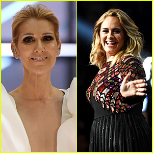 Adele Went to Celine Dion's Las Vegas Show - See Their Pic Together!