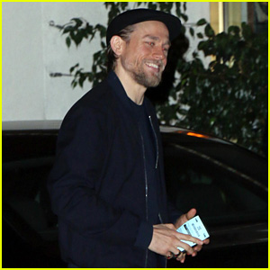 Charlie Hunnam Flashes His Gorgeous Smile in Los Angeles