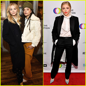Chloe Moretz Honored by Creative Coalition at Sundance 2018