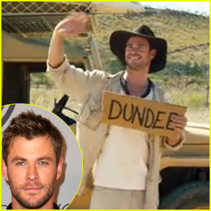Chris Hemsworth Makes Appearance in 'Dundee' Mystery Project - Watch Now!