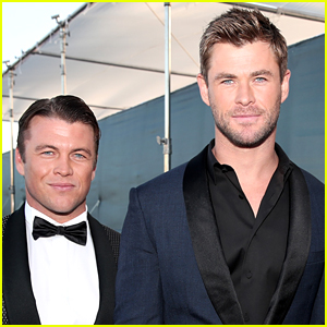Chris & Luke Hemsworth Suit Up for Critics' Choice Awards 2018